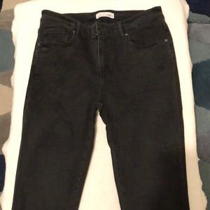 LOFT black modern skinny jeans - Size 28 / 6